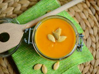 Постный тыквенный крем-суп