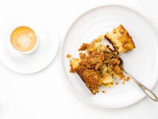 Рецепт кофейного торта без глютена